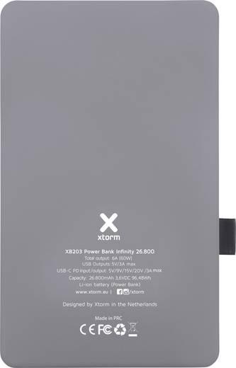 Xtorm by A-Solar Infinity Powerbank (Zusatzakku) Li-Ion 26800 mAh