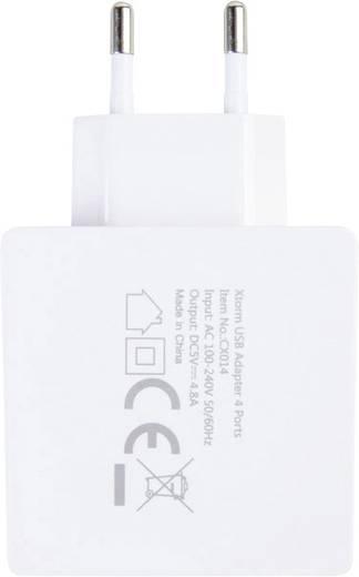 USB-Ladegerät Xtorm by A-Solar CX014 CX014 Steckdose Ausgangsstrom (max.) 4800 mA 4 x USB