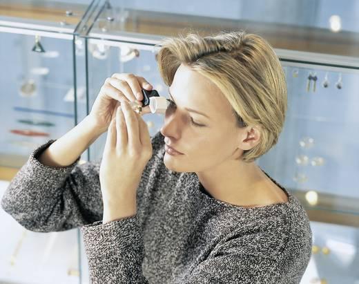 Einschlaglupe Vergrößerungsfaktor: 10 x Linsengröße: (Ø) 13 mm Schwarz, Weiß Zeiss D 40