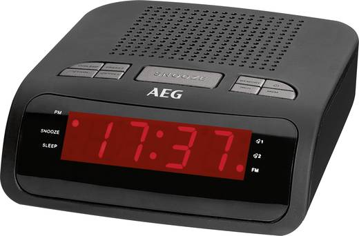 UKW Radiowecker AEG MRC 4142 Schwarz