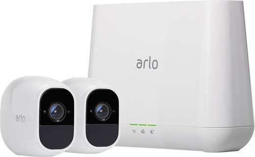 wlan ip berwachungskamera set mit 2 kameras 1920 x 1080 pixel netgear arlo pro 2. Black Bedroom Furniture Sets. Home Design Ideas
