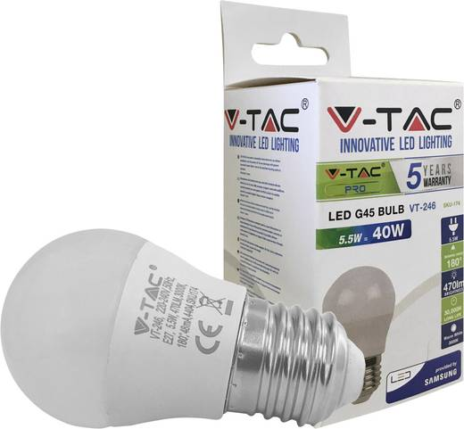 V-TAC LED SKU174 Warm-Weiß 5.5 W