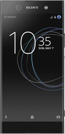 Sony Xperia XA1 Ultra Smartphone Single-SIM 32 GB 15.2 cm (6 Zoll) 23 Mio. Pixel Android™ 7.0 Nougat Schwarz