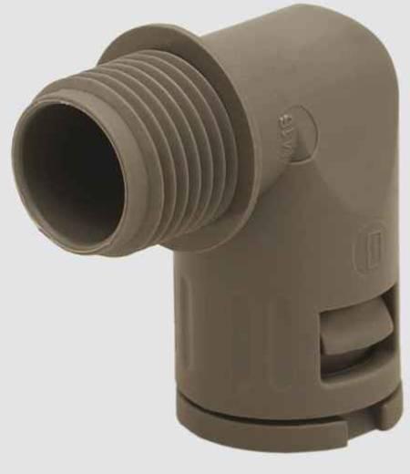 Schlauchverschraubung Schwarz M63 90° Helukabel 904849 HELUquick 90° sw M63 NW50 1 St.