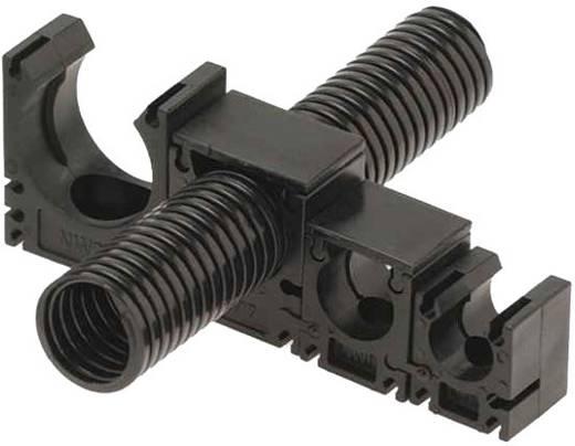 Halter für Schutzschlauch Schwarz 29 mm Helukabel 99275 SH-Systemhalter SW NW29 1 St.