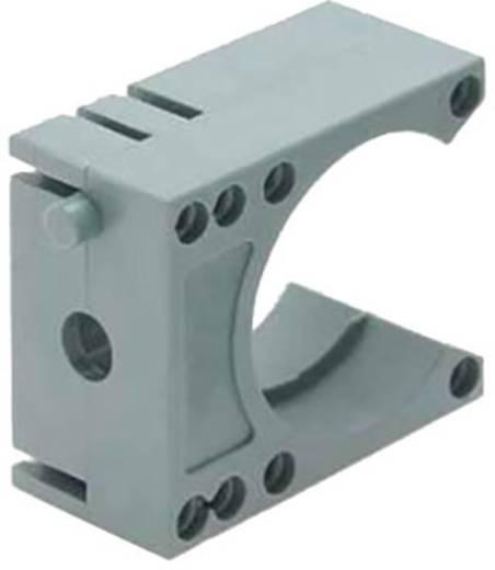 Halter für Schutzschlauch Grau 48 mm Helukabel 94670 SH-Systemhalter GR NW48 1 St.
