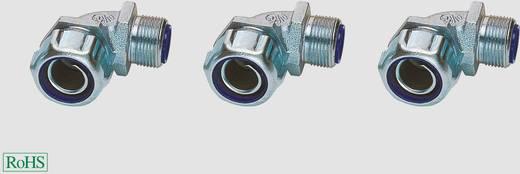 Schlauchverschraubung Silber 90° Helukabel 97300 T&B 90° Typ 5351 NPT 1/2'' 1 St.