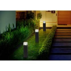 LED solární zahradní svítidlo Polarlite Iron-Ice PL-8220855, IP44, černá, neutrálně bílá