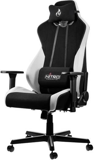 Gaming-Stuhl Nitro Concepts S300 Radiant White Schwarz, Weiß
