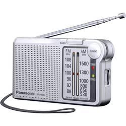FM kapesní rádio Panasonic RF-P150DEG, stříbrná