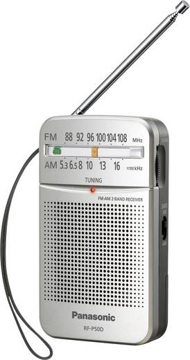 Panasonic RF-P50DEG UKW Taschenradio Silber
