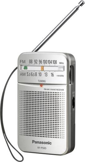 UKW Taschenradio Panasonic RF-P50DEG Silber
