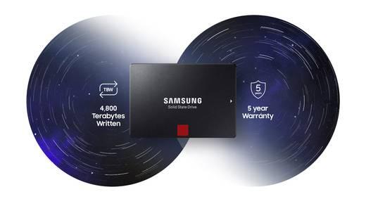 Samsung 860 PRO Interne SSD 6.35 cm (2.5 Zoll) 2 TB Retail MZ-76P2T0B/EU SATA III
