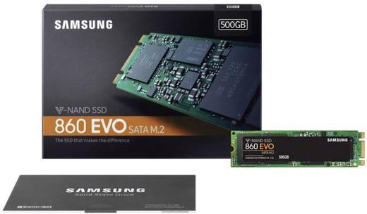 Samsung MZ-N6E500BW Interne SATA M.2 SSD 2280 500 GB 860 EVO Retail M.2