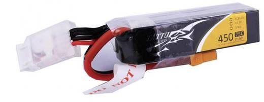 Tattu Modellbau-Akkupack (LiPo) 11.1 V 450 mAh Zellen-Zahl: 3 75 C Stick XT30