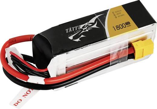 Tattu Modellbau-Akkupack (LiPo) 18.5 V 1800 mAh Zellen-Zahl: 5 75 C Stick XT60