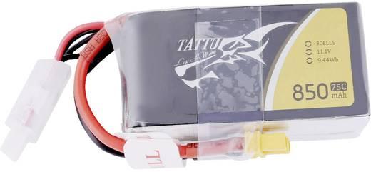 Tattu Modellbau-Akkupack (LiPo) 11.1 V 850 mAh Zellen-Zahl: 3 75 C Stick XT30