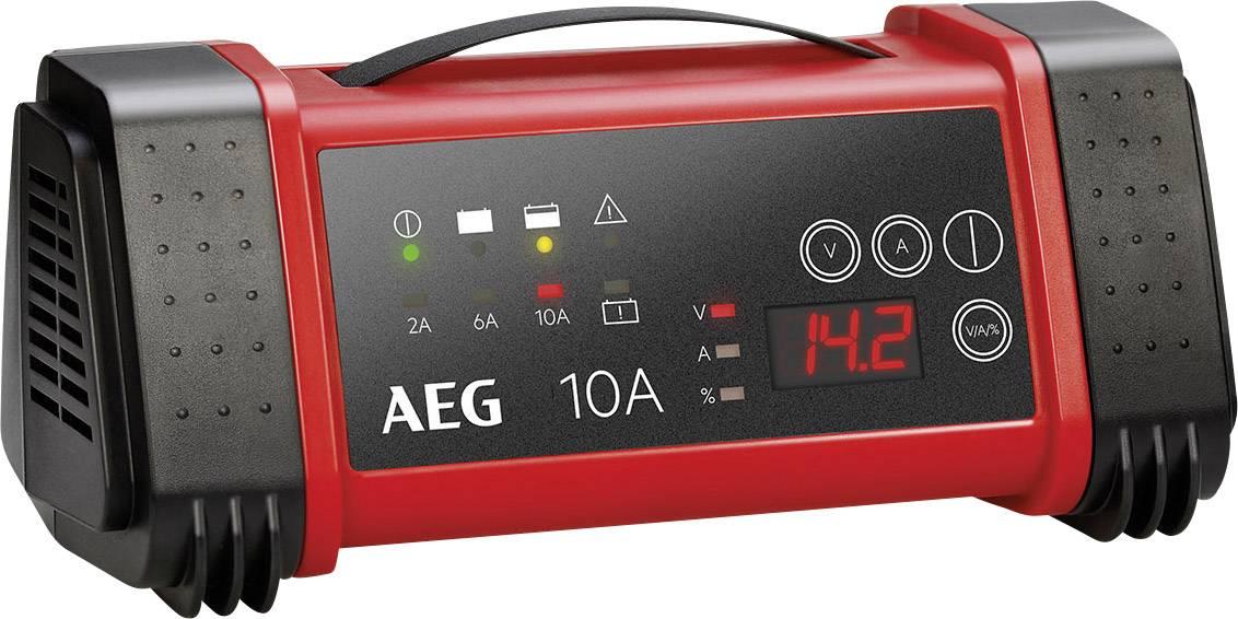 AEG LT10 97024 Automatikladegerät 12 V, 24 V 2 A, 6 A, 10 A 2 A, 6 A