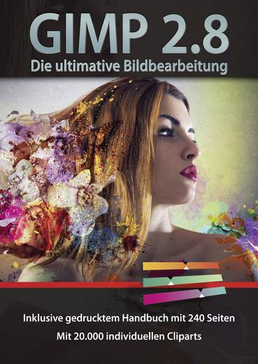 Gimp 2.8 - Digitale Bildbearbeitung Vollversion, 1 Lizenz Windows Bildbearbeitung