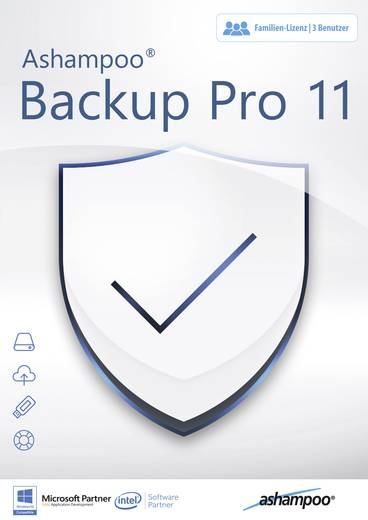 Backup Pro 11 Vollversion, 1 Lizenz Windows Backup-Software