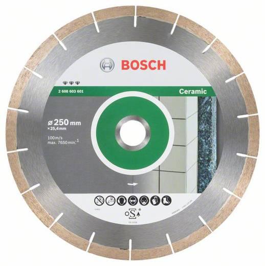 Diamanttrennscheibe Best for Ceramic and Stone, 250 x 25,40 x 1,8 x 10 mm Bosch Accessories 2608603601 Durchmesser 250 m