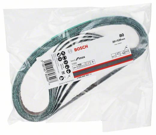 Bosch Accessories Best for Inox 2608608Y66 Schleifband Körnung 80 (L x B) 520 mm x 20 mm 10 St.