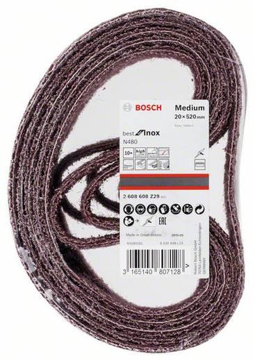 Bosch Accessories Best for Inox 2608608Z29 Schleifband (L x B) 520 mm x 20 mm 10 St.