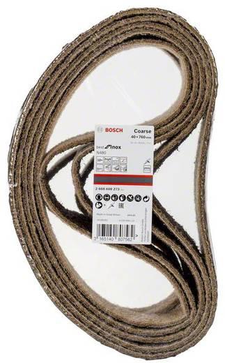 Bosch Accessories Best for Inox 2608608Z73 Schleifband (L x B) 760 mm x 40 mm 10 St.