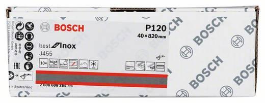 Schleifband Körnung 120 (L x B) 820 mm x 40 mm Bosch Accessories Best for Inox 2608608Z64 10 St.