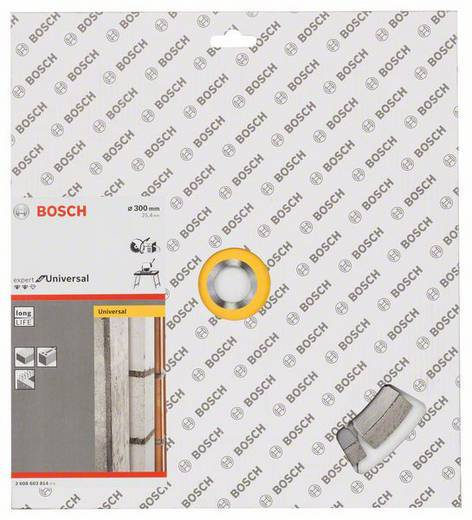 Diamanttrennscheibe Expert for Universal, 300 x 25,40 x 2,8 x 12 mm Bosch Accessories 2608603814 Durchmesser 300 mm 1