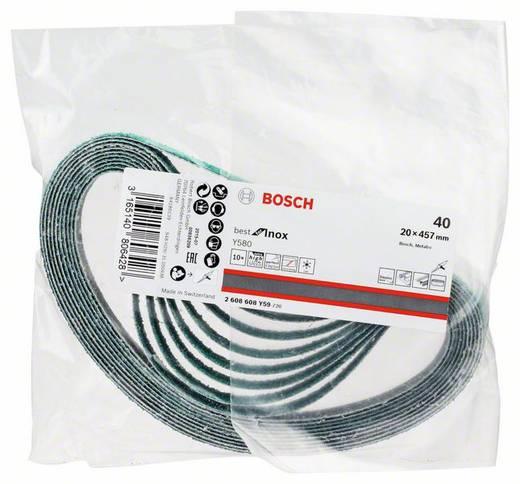 Bosch Accessories Best for Inox 2608608Y59 Schleifband Körnung 40 (L x B) 457 mm x 19 mm 10 St.