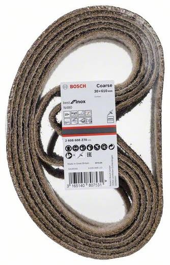 Bosch Accessories Best for Inox 2608608Z70 Schleifband (L x B) 610 mm x 30 mm 10 St.