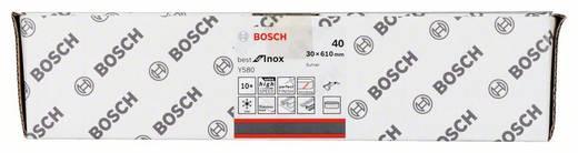 Schleifband Körnung 40 (L x B) 610 mm x 30 mm Bosch Accessories Best for Inox 2608608Z36 10 St.
