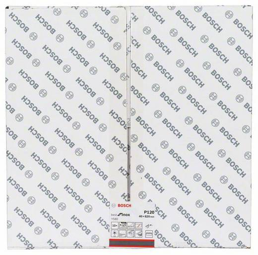 Schleifband Körnung 120 (L x B) 820 mm x 40 mm Bosch Accessories Best for Inox 2608608Z49 10 St.