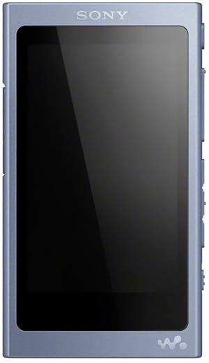 Sony NW-A45HN MP3-Player 16 GB Blau Bluetooth®, Digitale Geräuschminimierung, High-Resolution Audio, NFC