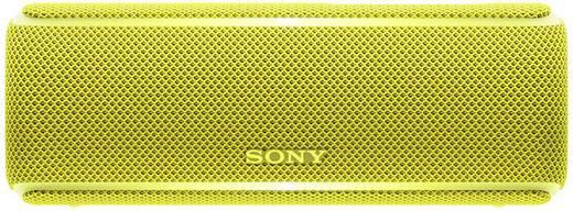 Bluetooth® Lautsprecher Sony SRS-XB21 AUX, NFC, Staubfest, Wasserfest Gelb