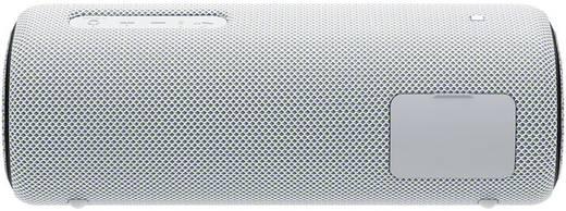 Bluetooth® Lautsprecher Sony SRS-XB31 AUX, Freisprechfunktion, NFC, Staubfest, Wasserfest Weiß