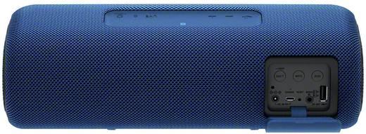 Sony SRS-XB41 Bluetooth® Lautsprecher AUX, Freisprechfunktion, Staubfest, Wasserfest, NFC Blau