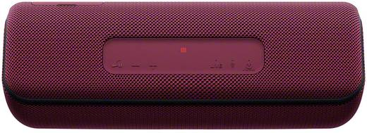 Sony SRS-XB41 Bluetooth® Lautsprecher AUX, Freisprechfunktion, Staubfest, Wasserfest, NFC Rot