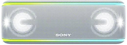 Sony SRS-XB41 Bluetooth® Lautsprecher AUX, Freisprechfunktion, Staubfest, Wasserfest, NFC Weiß