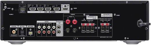 Sony STR-DH790 7.2 AV-Receiver 7.2x145 W Schwarz Bluetooth®, Dolby Atmos®, High-Resolution Audio, USB