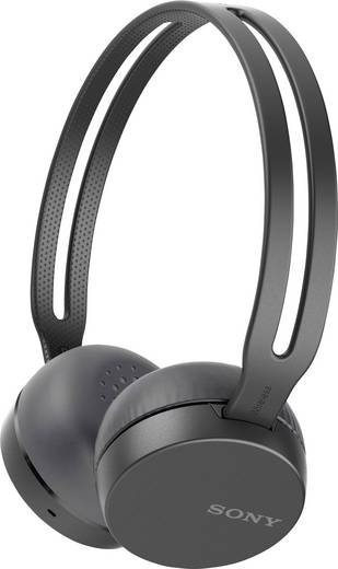 Sony WH-CH400 Bluetooth® Kopfhörer On Ear Headset Schwarz