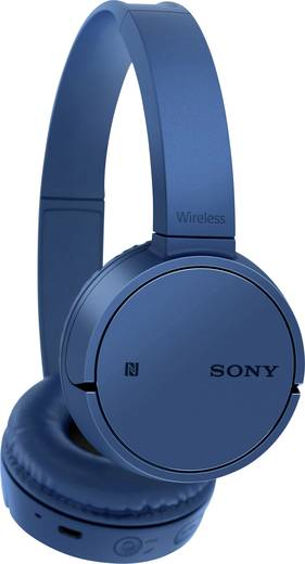 Sony WH-CH500 Bluetooth® Kopfhörer On Ear Headset Blau