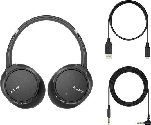Bluetooth® Kopfhörer Sony WH-CH700N On Ear Headset, Noise Cancelling Blau