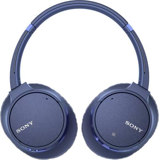 Sony WH-CH700N Bluetooth® Kopfhörer On Ear Headset, Noise Cancelling Blau