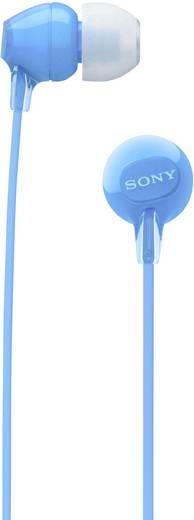 Sony WI-C300 Bluetooth® Kopfhörer In Ear Headset Blau