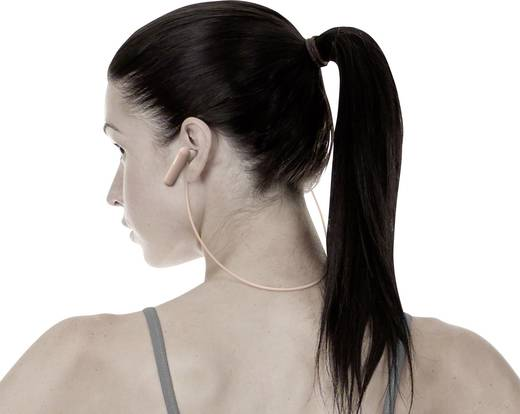 Sony WI-SP500 Bluetooth® Sport Kopfhörer In Ear Headset, Nackenbügel, NFC, Noise Cancelling, Schweißresistent Pink