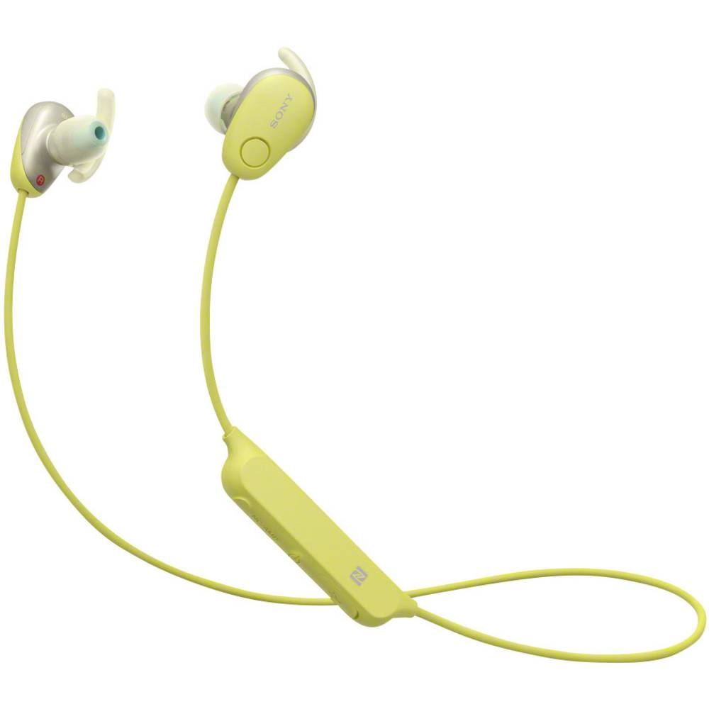 Ecouteurs Bluetooth Sport Intra Auriculaires Sony Wi Sp600n Micro