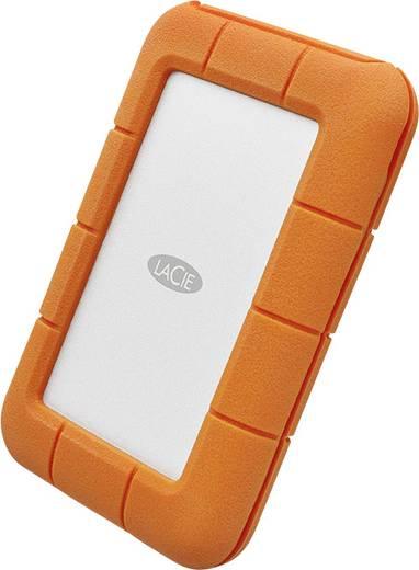 Externe Festplatte 6.35 cm (2.5 Zoll) 2 TB LaCie Rugged® Secure Silber, Orange USB-C™