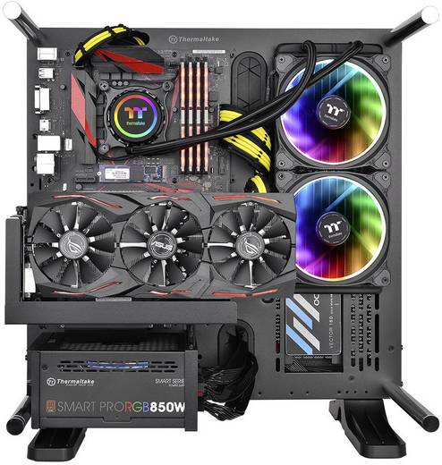 PC-Wasserkühlung Thermaltake Floe Riing RGB 280 TT Premium
